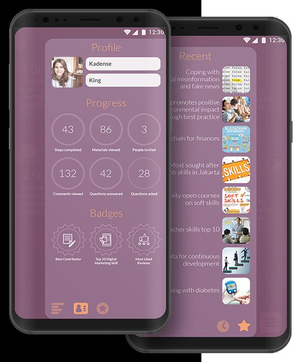 Mobile app LifeLean